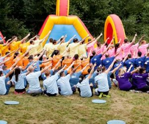 Croxley Park Olympic Event | Group Shot with Teams