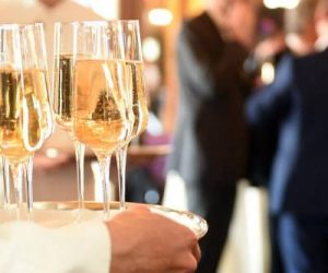 Corporate Anniversary Party of KLM Prosecco at Drinks Reception