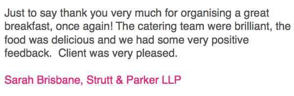 Strutt&Parker Testimonial