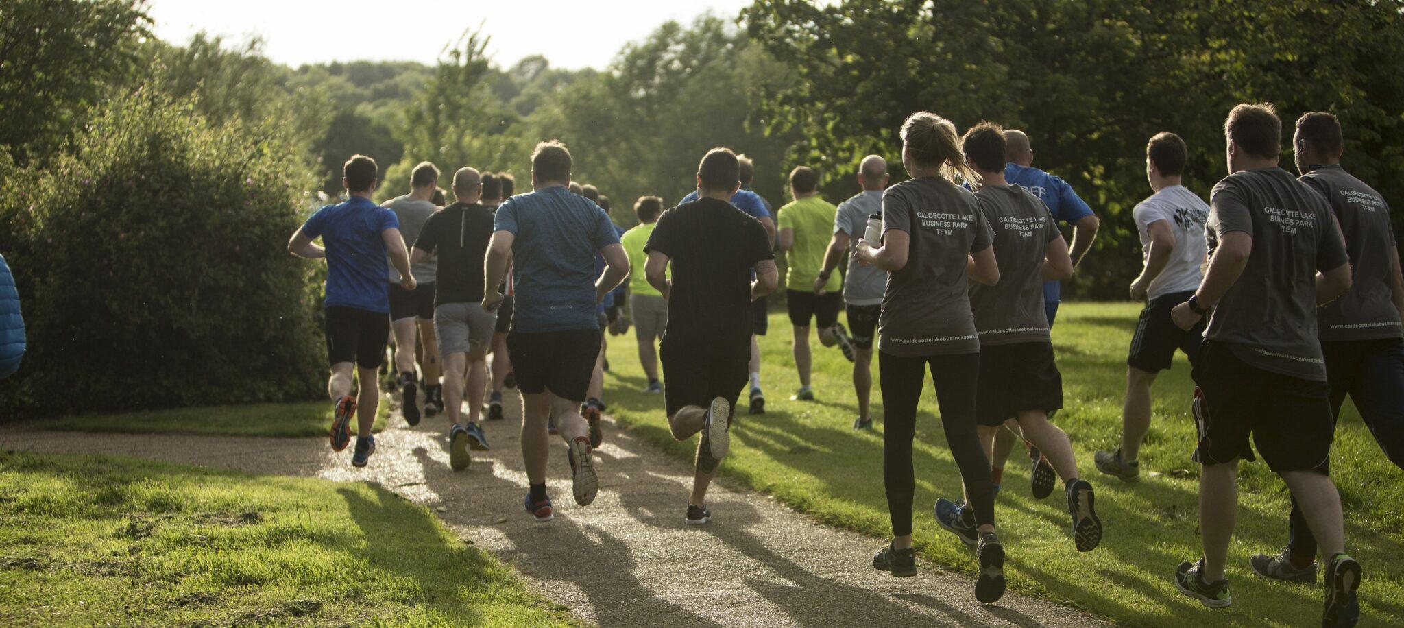 Caldecotte Lake 10K Run